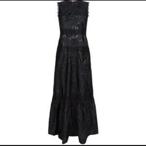 Elie Tahari Formal Sarah Metallic Gown